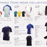 Yonex Team Apparel 2010