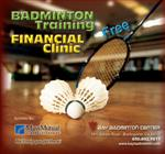 Mass Mutual Badminton Training and Financial Clinic